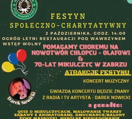 "Festyn charytatywny ""Pod Wawrzynem"""