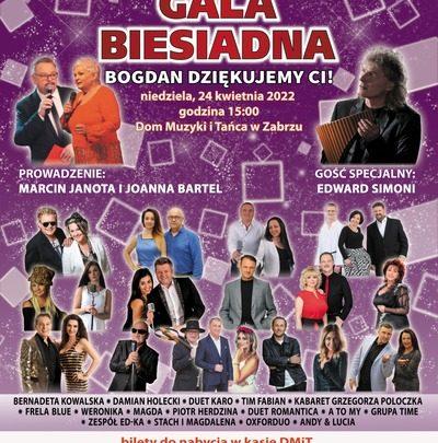 Śląska Gala Biesiadna Bogdan – dziękujemy Ci!